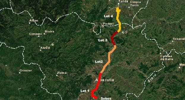 Ministrul Transporturilor nemulțumit de stadiul lucrărilor pe tronsonul I al Autostrăzii Sebeș – Turda. Răzvan Cuc anunță controale săptămânale pe loturile care au termen de finalizare sfârşitul anului.
