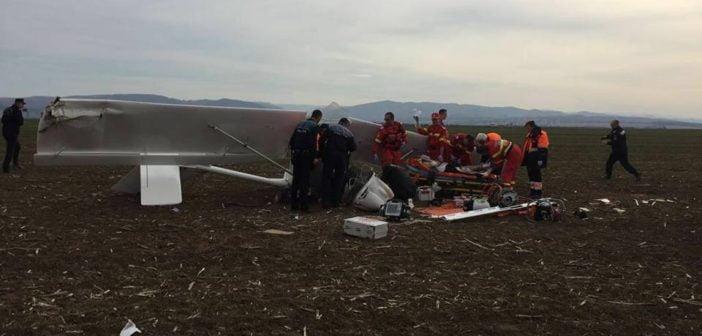 ULTIMUL ZBOR pentru Zaharia Groza. Pilotul a pierdut lupta cu viața într-un spital din Târgu Mureș