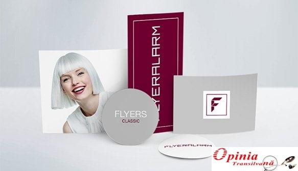 Află cum să îți promovezi afacerea cu tipografia online FLYERALARM