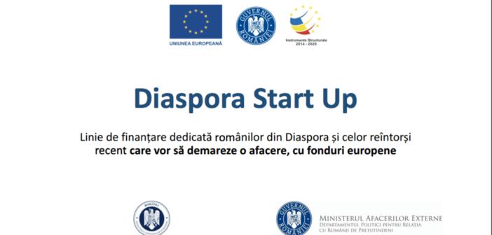 Diaspora Start Up: Îţi oferim 40.000 de motive să devii antreprenor în România