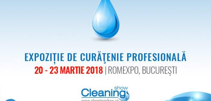 Peste 90 de brand-uri de renume prezente la Cleaning Show 2018 20 – 23 martie 2018