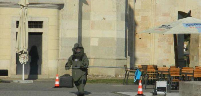 Exercițiu SRI pentru testarea reacției conjugate la apariția unei amenințări cu bombă în Alba Iulia
