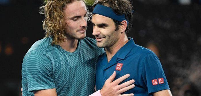 Federer eliminat de la Australian Open de Tsisipas. Anunt pentru sezonul de zgura