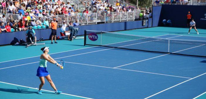 FOTO- Irina Begu a fost eliminată de câştigătoarea de la  Indian Wells, Bianca Andreescu în primul tur al turneului de la Miami