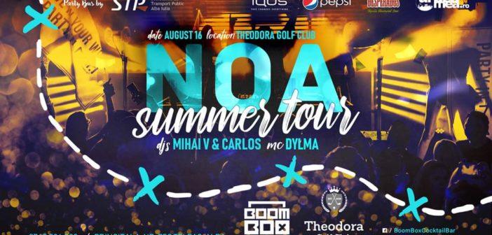 Super petrecere la Theodora Golf Club, vineri 16 august, ora 22! Vezi cum poți ajunge gratuit la eveniment cu Party Bus-ul Urbea Mea.