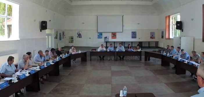 Ședinţa publică, extraordinară, cu convocare de îndată în CL Sebeș