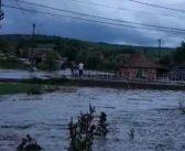 Inundații grave la Sânmiclăuș