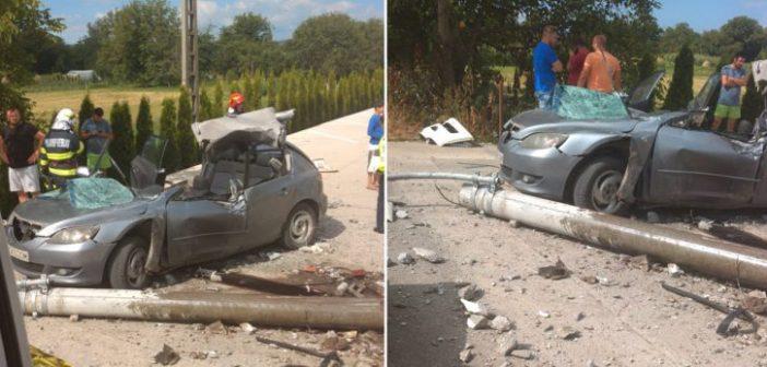 Bărbat din Alba implicat într – un accident grav în Hunedoara. Pe numele său s – a deschis un  dosar de ucidere din culpă